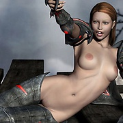 Fallout girls in 3D porn pics