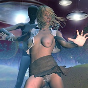 Excellent sci-fi pics with nude girls