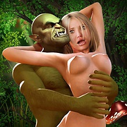 3D fantasy forced sex