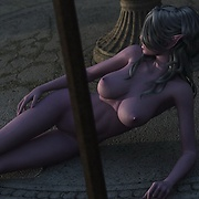 Nude elf ladies in fantasy sex world