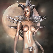 Sexiest queens of darkness elves nude